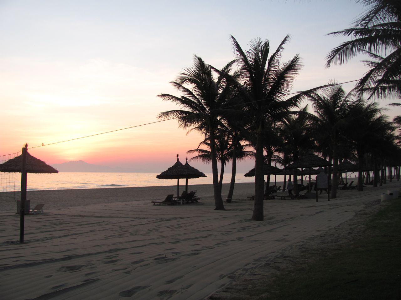Sunrise at Cua Dai Beach