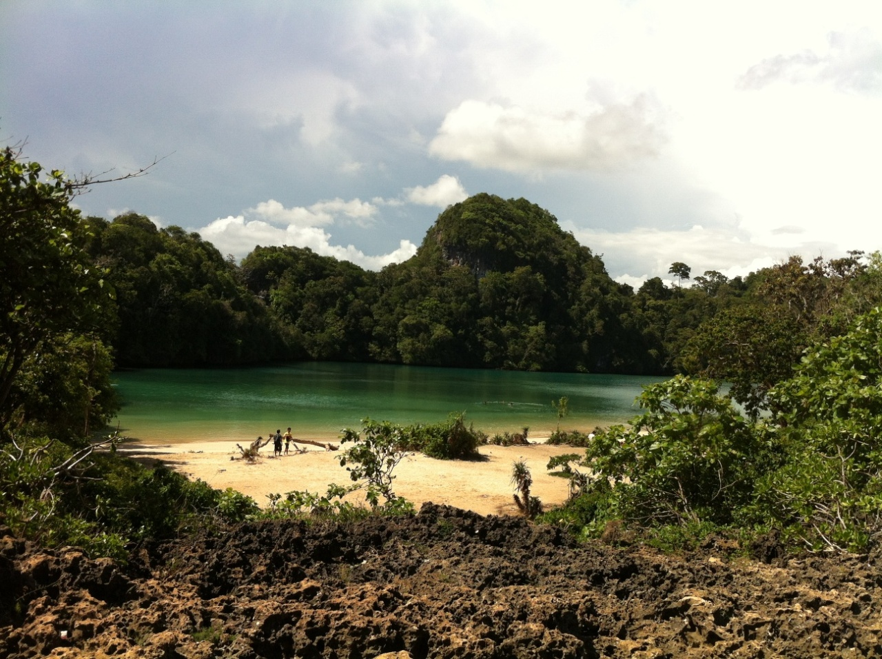 Hike on Sempu Island
