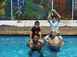 POOL Fun after Car Free Sunday in Jakarta