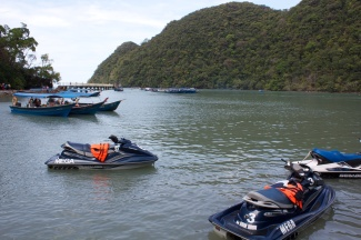 our jet skis