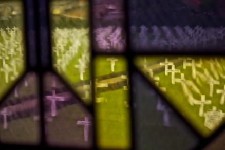 Through the stained glass