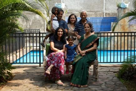 Big fat family portrait