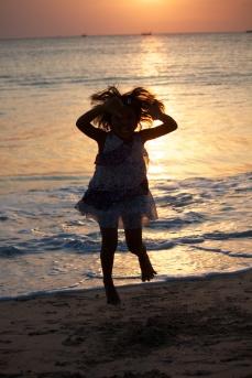 Sunset at Jimbaran