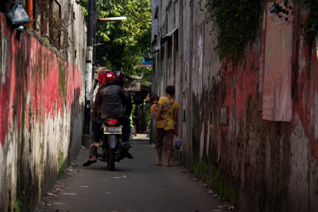 Walking in Bangka