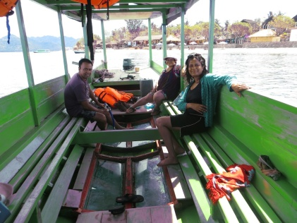 Snorkelling around Gili