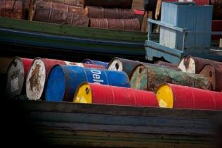 Barrels of colour