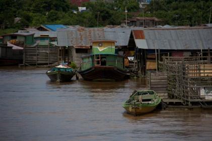 Quiet river scene