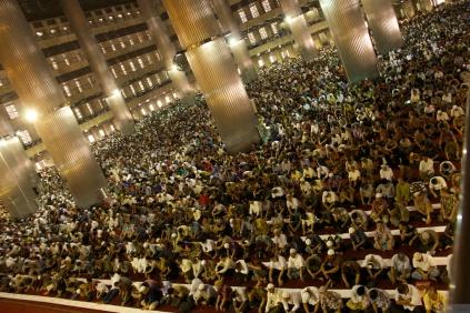 Ramadan prayers at Masjid Istiqlal