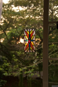 Suncatcher in the window