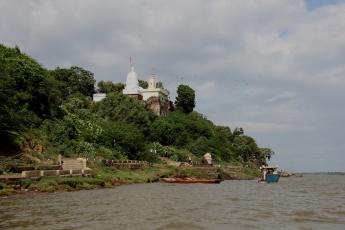 On the ghats of Narmada