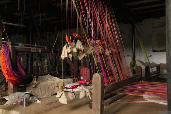Maheshwari Weaving