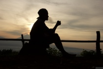 Sunrise from Setumbu