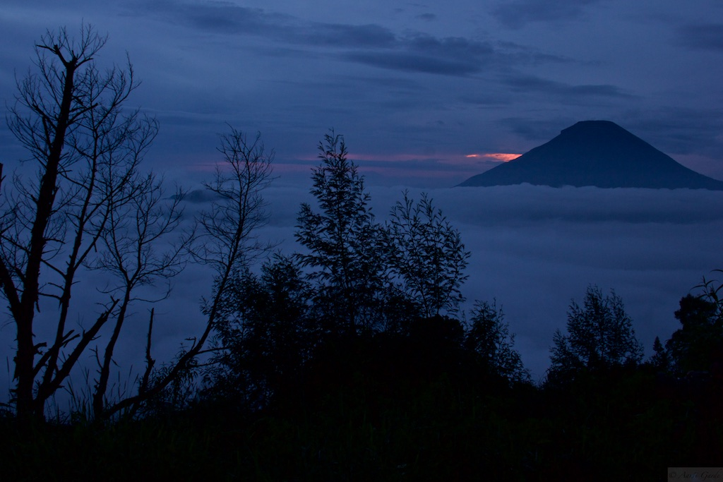 Sunrise at Dieng Plateau