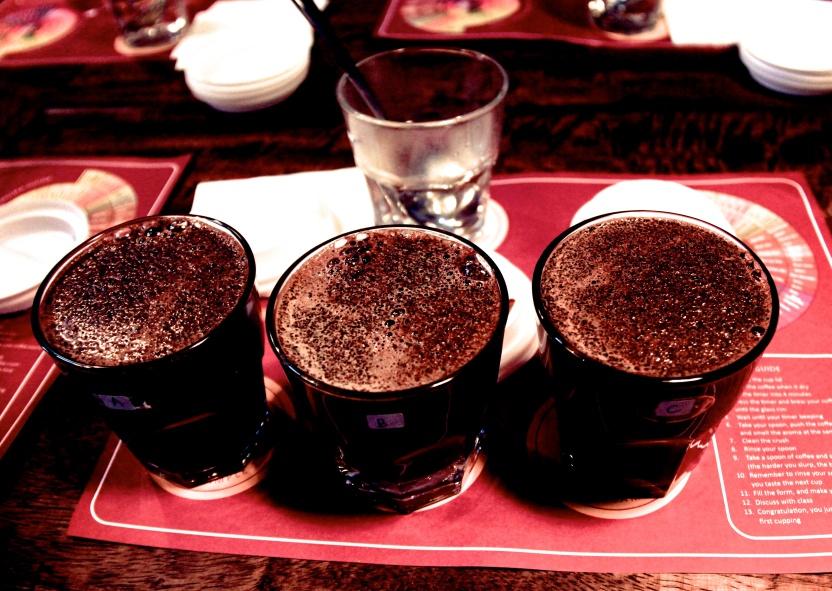 Anomali Coffee Tasting
