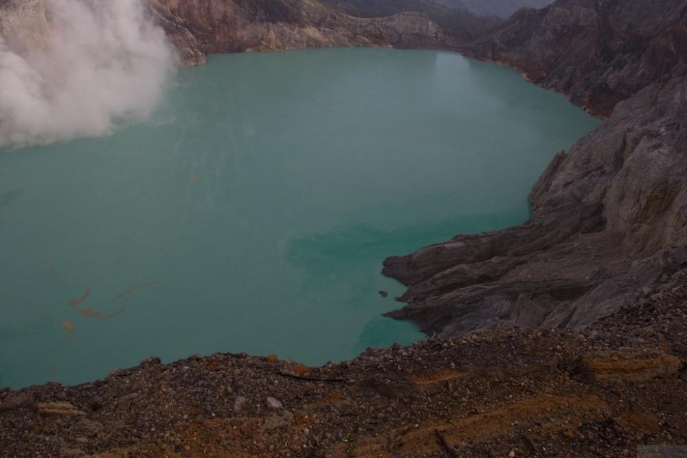 I climbed up a volcano! (3/6)