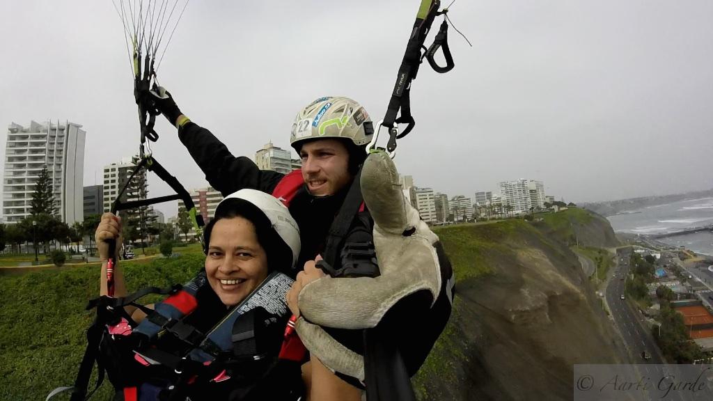 Paragliding at Miraflores