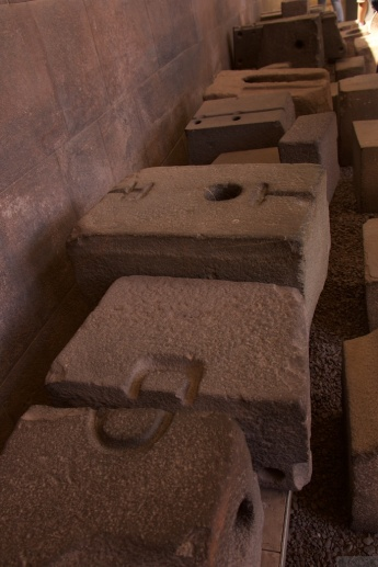 Inca stone masonry elements