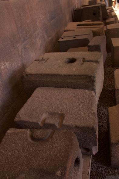 Inca stone masonry elements