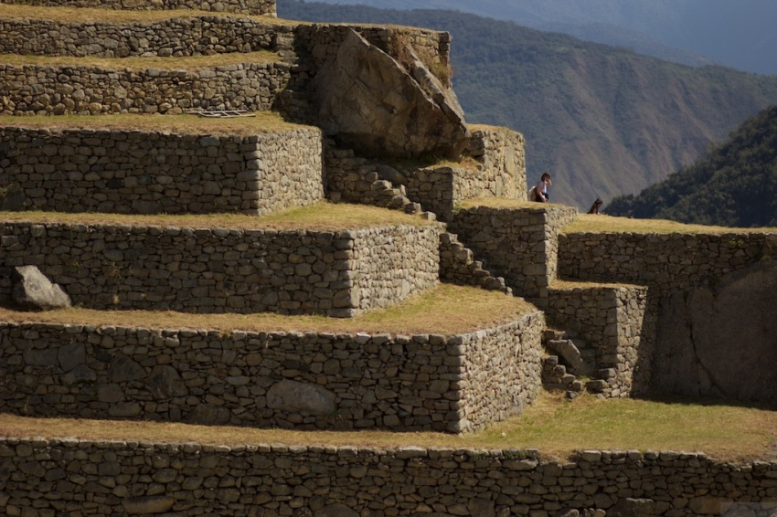 Steps and terraces