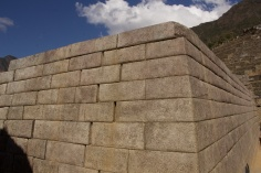 Polished stone walls for the Temple of the Sun