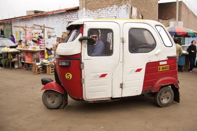 Bajaj rickshaws in Lima too!