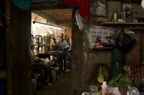 A silversmith's workshop