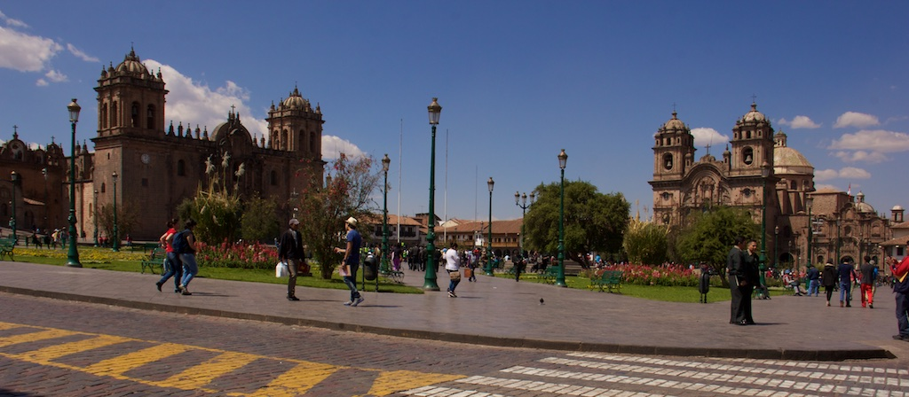 Walking in Cusco..or..the day I lost my iPhone