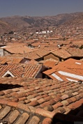 Rooftop view of Cusco