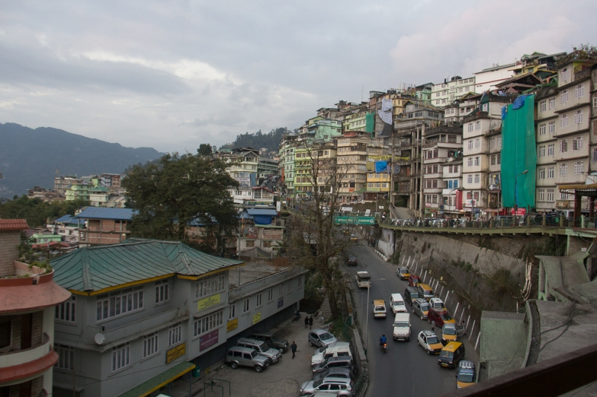 To the market in Gangtok