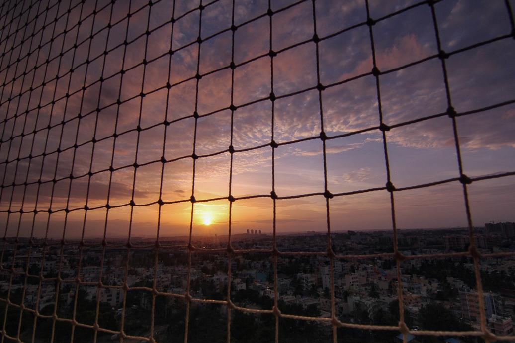 Bangalore sunset-1